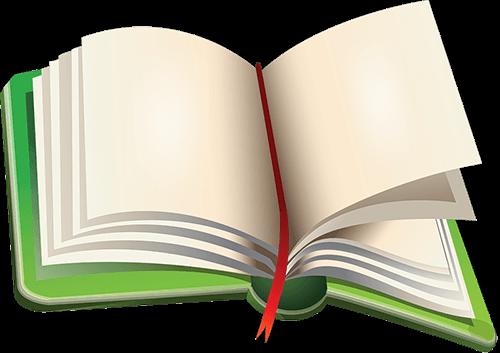 Libro verde abierto