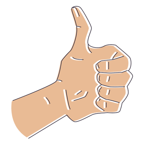 Mano dedo arriba