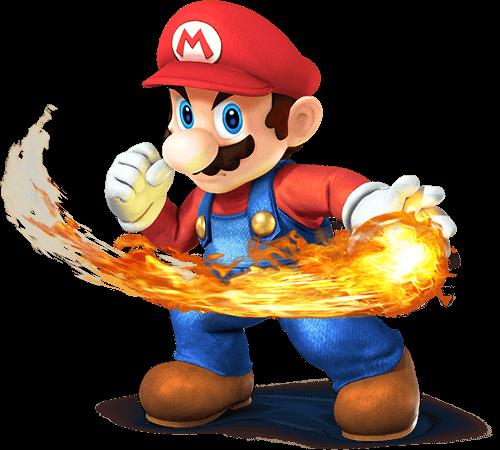Mario con bola de fuego