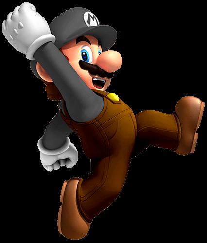 Mario de marrón