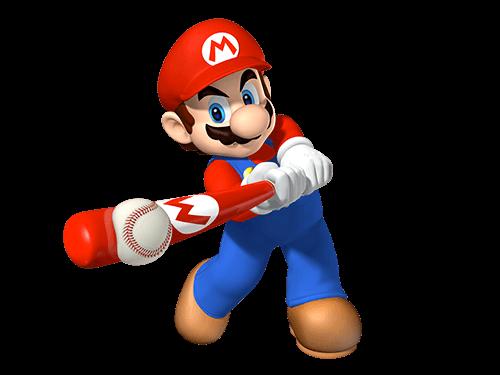 Mario juega baseball