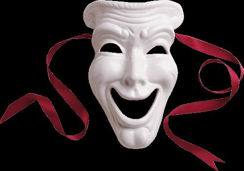 Máscara feliz