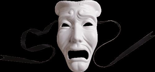 Máscara triste