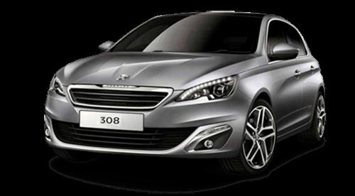 Peugeot 308 gris