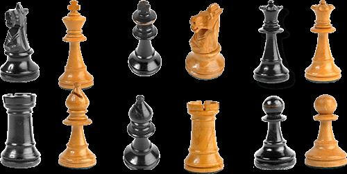 Pizas de ajedrez