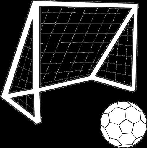 Portería y pelota