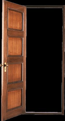 Puerta cuatro tableros