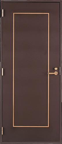 Puerta estilizada