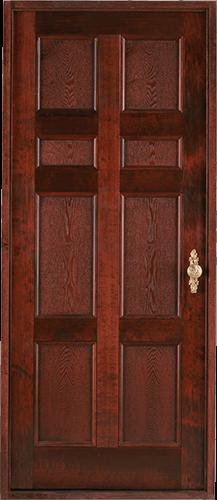 Puerta seis tableros
