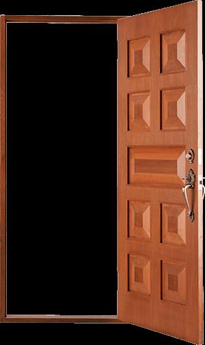 Puerta tablero abierta