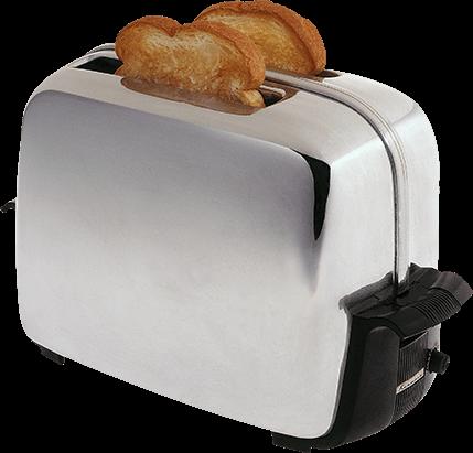 Sandwich machine with bread