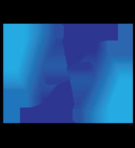 Signo piscis azul
