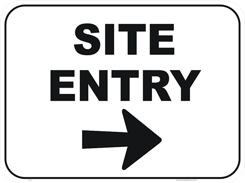 Site entry