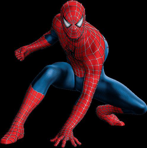 Spider man mano en piso
