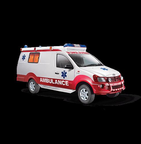 Vehículo ambulancia