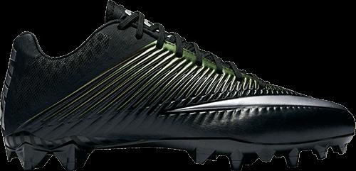 Zapato de fútbol negro