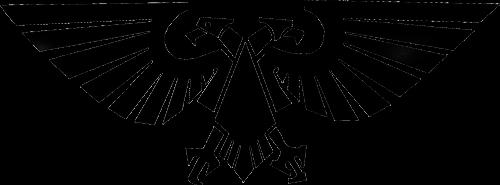 Águila Eagle imperial silueta