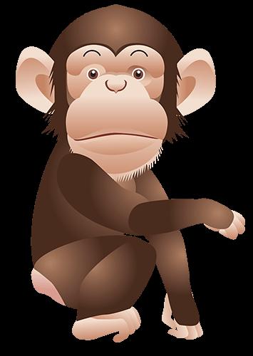 Mono caricaturesco