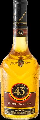 Botella Diego Zamora 43
