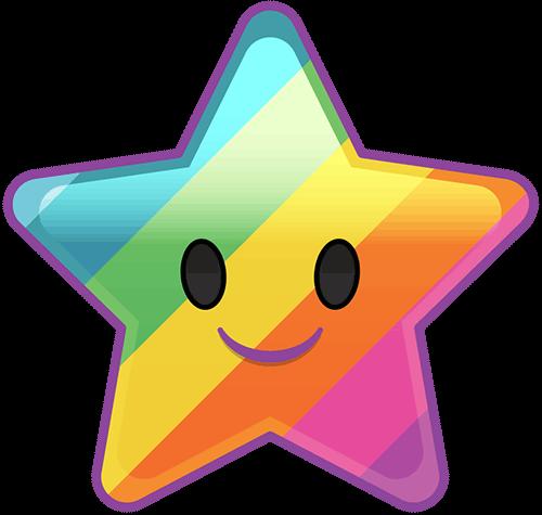 Estrella arcoiris