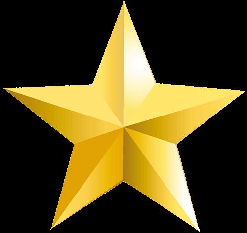 Estrella con degradado