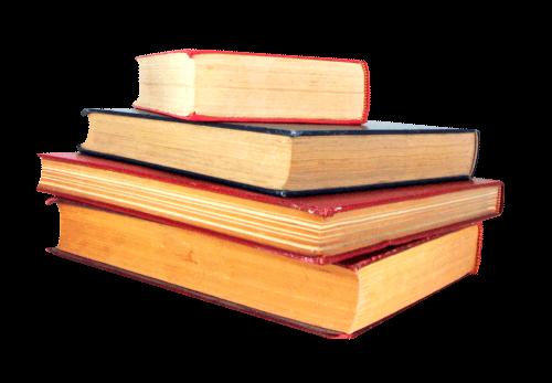 Grupo de libros viejos