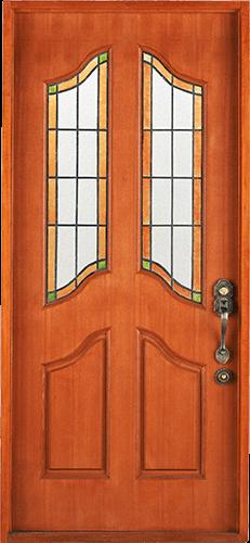 Puerta vidrio arriba